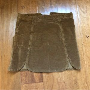 Brandy Suede Skirt